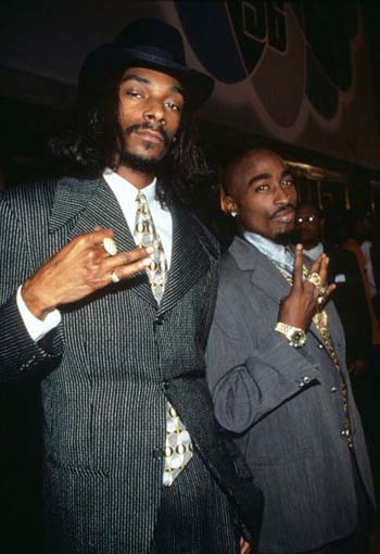 2pac and Snoop Dog