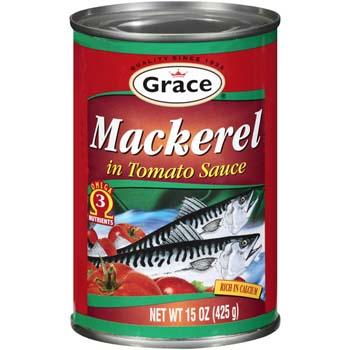 Grace Tin Mackerel