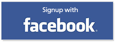 Signup with Facebook